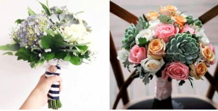 harga bunga pengantin