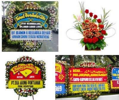 harga karangan bunga