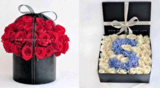 harga kotak bunga