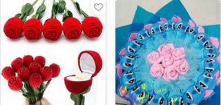 harga bunga valentine unik