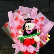 harga bunga wisuda boneka jogja