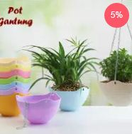 Harga pot bunga gantung