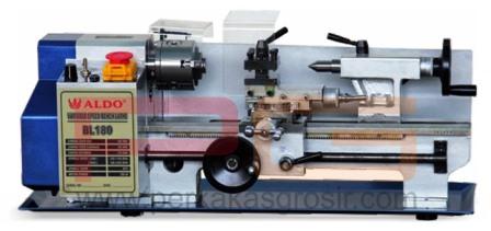 Mesin bubut mini Aldo BL-180