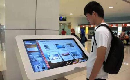 harga mesin antrian touchscreen