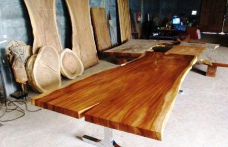 harga papan kayu trembesi