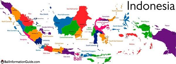 kota kabupaten di indonesia