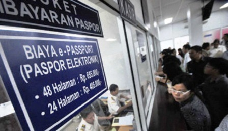 Biaya buat paspor baru