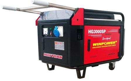 Harga Mesin Genset Honda HG3000SPWP