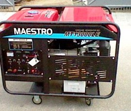 Harga Mesin Genset Maestro MT13000LE