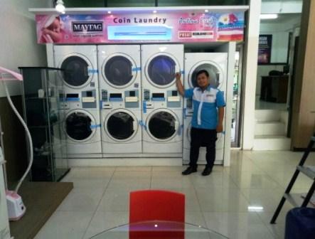 Harga Mesin Laundry Koin Maytag