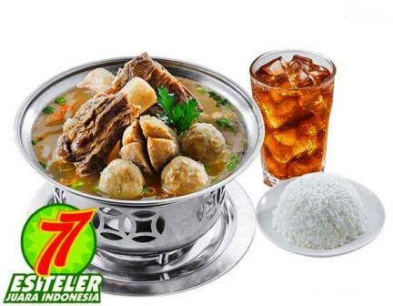 Sup Sapi Bakso Super ES Teler 77