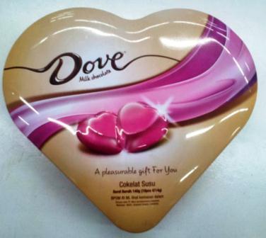 Harga Coklat Dove di Alfamart