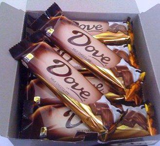 Harga Coklat Dove di Indomaret