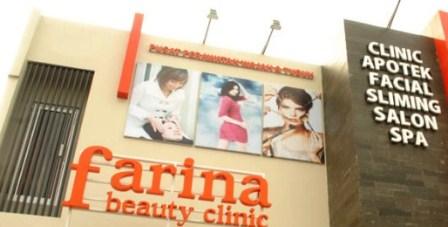 Harga Perawatan di farina Beauty Clinic