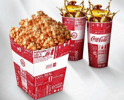 Harga popcorn CGV Blitz Jogja