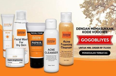 Harga produk perawatan di NMW