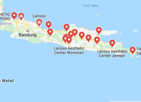 Lokasi Perawatan Larissa Aesthetic Centre