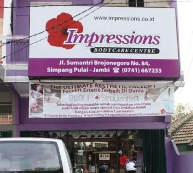 Lokasi Perawatan di Impression