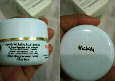 Produk Cream Wijaya Platinum