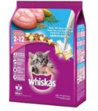 Whiskas Dry Junior Ocean Fish Milky