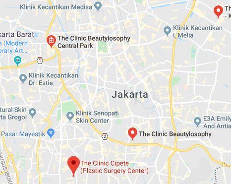 Daftar Lokasi Perawatan The Clinic