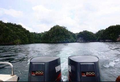 Harga Mesin Speed Boat Yamaha Bekas