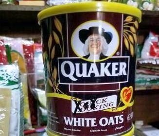 Harga Quaker Oat Kaleng