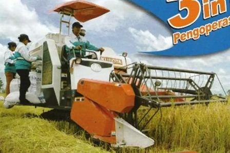 Harga mesin panen padi Kubota DC60