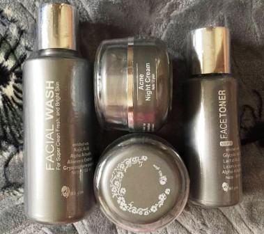Produk perawatan MS Glow (Cream, Toner, Facial Wash)