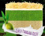 Harga Bolu Talas Bogor Sangkuriang Coco Pandan