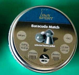 Harga Peluru Senapan Angin Barracuda Match