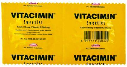 Harga Vitamin C Isap
