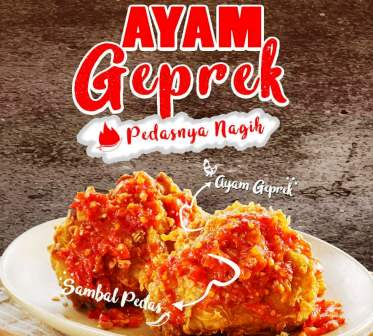 Harga Ayam Geprek CFC