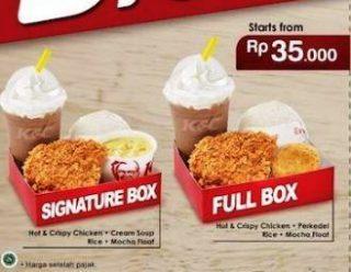 Harga Ayam Nasi KFC Paket Signature