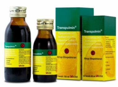 Harga Transpulmin Syrup