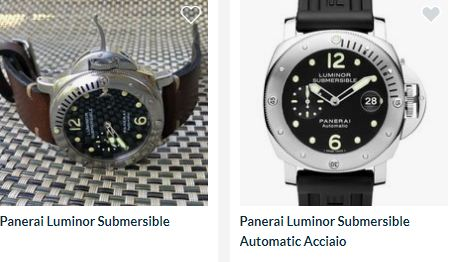 Harga panerai luminor submersible