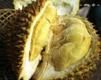 Buah Durian Motong
