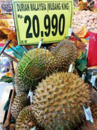 Harga Buah Durian Musang King Kuala Lumpur