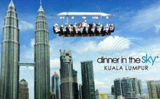 Harga Dinner In The Sky Malaysia