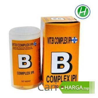 Harga Vitamin B Complex