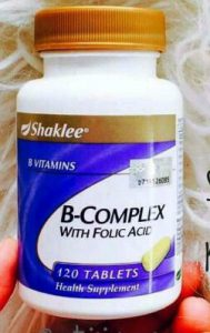 Harga Vitamin B Complex Shaklee