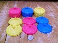 Harga penutup gelas plastik wana-warni