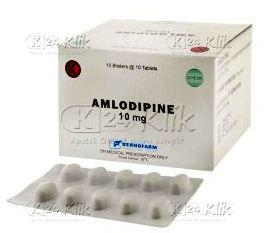 Harga Amlodipine 10 Mg
