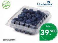 Harga Blueberry di Supermarket