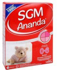 Harga Susu SGM 0-6 Bulan
