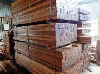 Harga kayu merbau Perkubik (M³)