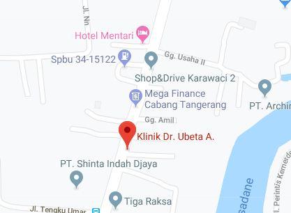 Daftar Lokasi Perawatan Ubeta