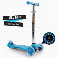 Harga Skuter Four Wheel –Blue