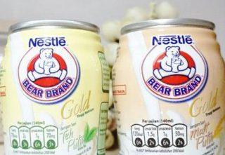 Susu Beruang kaleng kecil