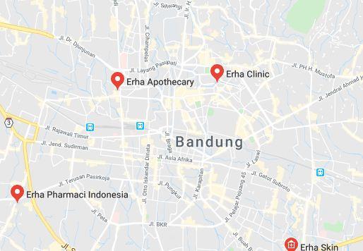 Daftar Alamat Erha di Indonesia